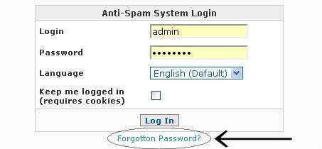 SpamWall Operations Manual - System Settings